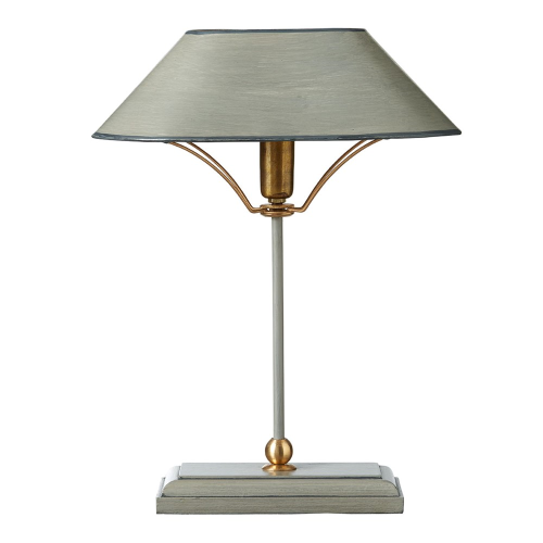 Grisewood Table lamp & shade, W31 x D20 x H42cm, Grey