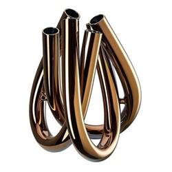 Triu Vase, 22cm, copper
