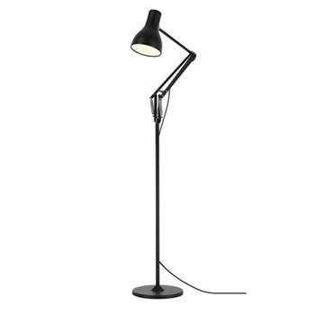 Type 75 Floor lamp, jet black