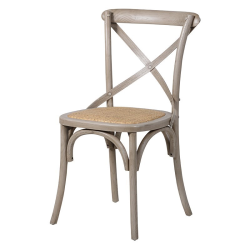 Bartholdi Dining chair, 87.5 x 50.5 x 52cm, washed effect