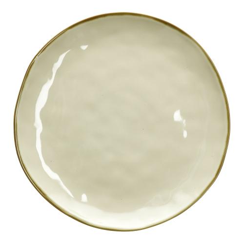 Concerto Set of 4 dinner plates, Dia27cm, Ivory