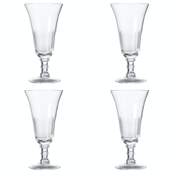 Ranelagh Set of 4 champagne flutes, Clear