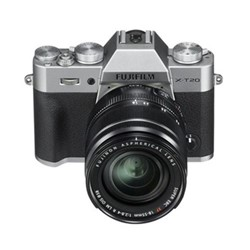 X-T20 Mirrorless camera with XF 18-55 mm f/2.8-4, 24.3MP, silver