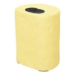 Pick 'n' Mix Round sweet stool, H40 x W31 x D25cm, yellow/black
