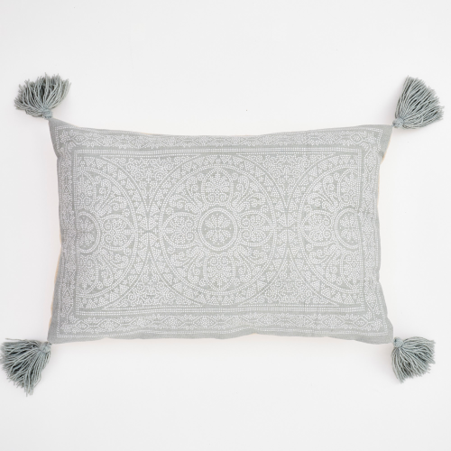 Kas Cushion, L60 x W40cm, Dove Grey