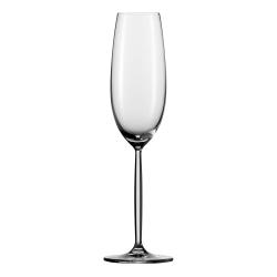 Diva Set of 6 champagne flutes, 21.9cl