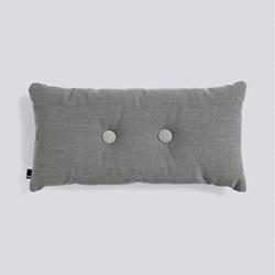Steelcut Trio 2 Dot Cushion, H70 x L36cm, dark grey