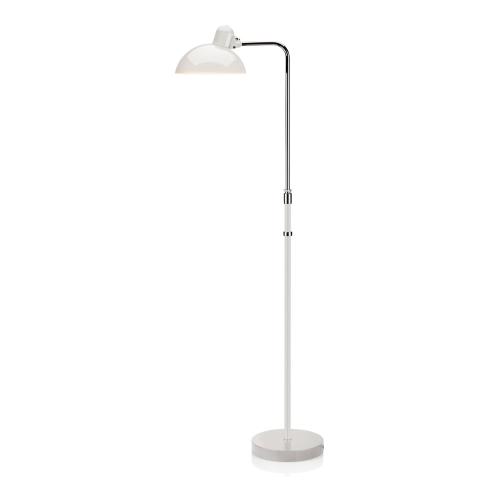 Kaiser Idell-6556 F Floor lamp, H125cm, White