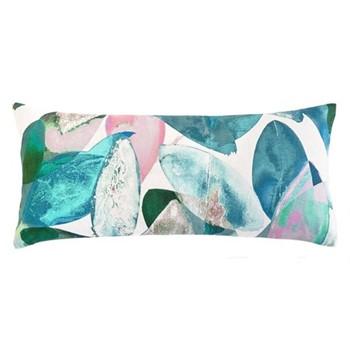 Falling Leaves in Summer Cushion, L57 x W27cm, multi