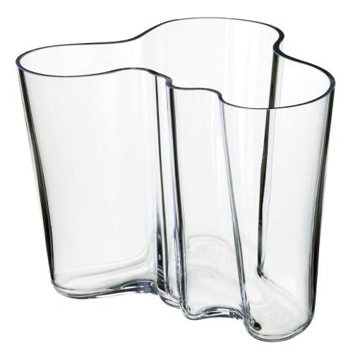 Alvar Aalto Vase, 16cm, clear
