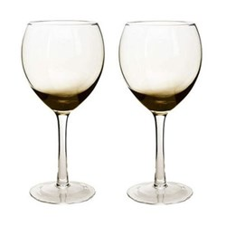Halo/Praline Pair of red wine glasses, 47.5cl