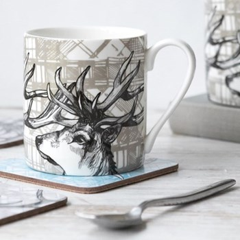 Stag Mug, 8.5 x 9cm