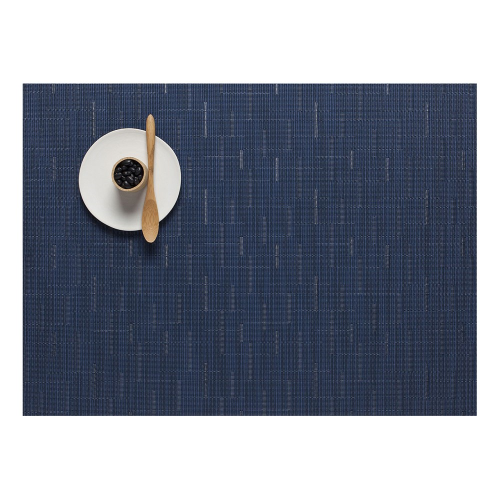 Bamboo Set of 4 rectangular placemats, 36 x 48cm, Lapis