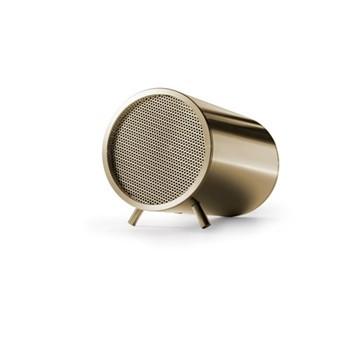 Tube by Piet Hein Eek Bluetooth speaker, L8 x D5cm, brass