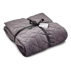 Pavillion Bedspread, 200 x 200cm, grey
