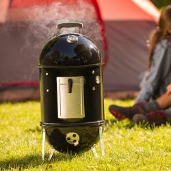 Smokey Mountain Charcoal Cooker/smoker barbecue, 37cm, Black