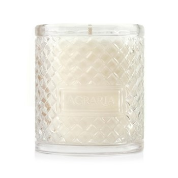 Woven Crystal Scented candle, 198g, lemon verbena