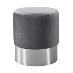 Chandler Stool, W40 x H45 x D40cm, grey