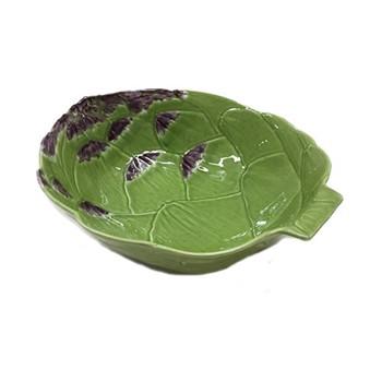 Artichoke Pair of bowls, 32.6 x 27.7 x 10.1cm, green