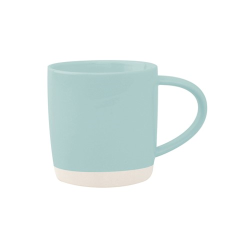 Shell Bisque Set of 4 mugs, 9 x 9cm, mist