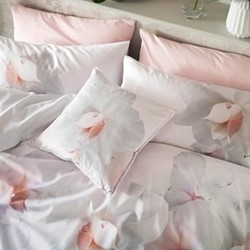 Cotton Candy Pair of standard pillowcases, 48 x 74cm, pink