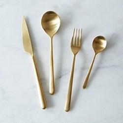 Linea Oro Ice Table spoon, gold
