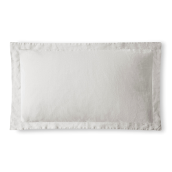 King size Oxford pillowcase, 50 x 90cm, Toulon Dove Grey