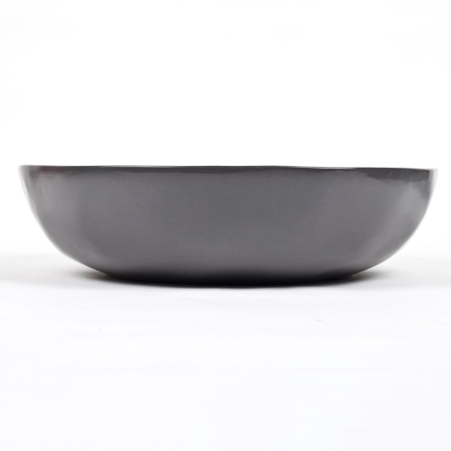 Serving/salad bowl, D30 x H7cm, Charcoal