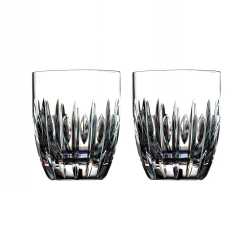 Ardan Collection Pair of tumblers, H10 x W8.4 x D8.4cm