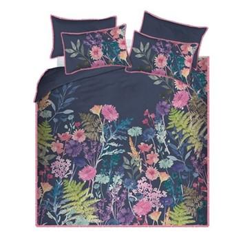 Peggy Midnight Super king size duvet cover set, 260 x 220cm