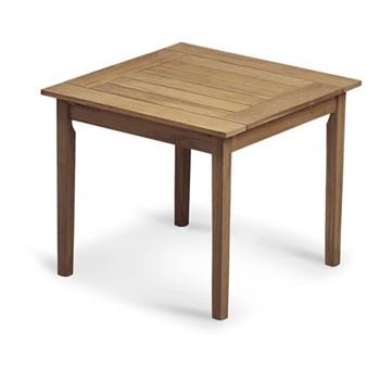 Drachmann Table, L86 x W86 x H72cm, teak