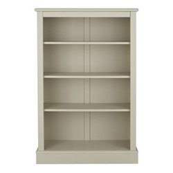 Milne Bookcase, H135 x W89 x D30cm, taupe