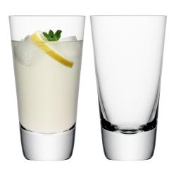 Madrid Pair of highball glasses, 440ml, clear