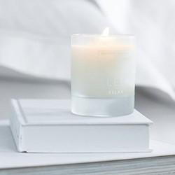 Sleep Sleep candle, H8.5 x W7 x L7cm