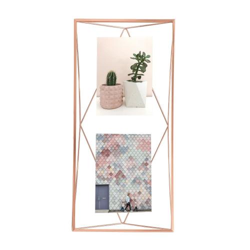 Prisma Photo frame, 48 x 23 x 8cm, Copper