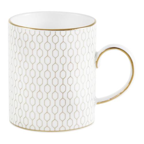 Arris Set of 4 mugs, 340ml, White/Multi