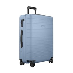 H6 Medium check-In trolley suitcase, W46 x H64 x D24cm, blue vega