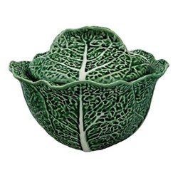 Cabbage Tureen, 3 litre - 33 x 18cm, green
