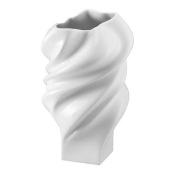 Squall Vase, 23cm, white
