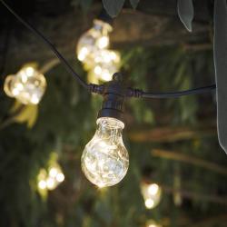 Festoon lights, L9.5m - 20 Bulbs