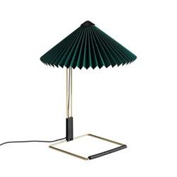 Matin by Inga Sempé Table lamp, H38 x W30 x D30cm, green