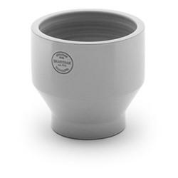 Edge Outdoor pot, Dia18 x H18cm, light grey