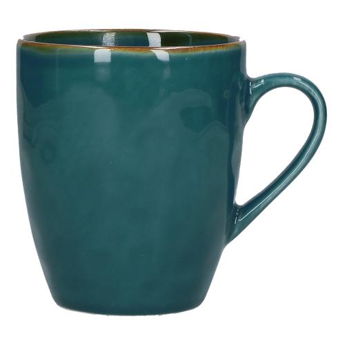 Concerto Set of 4 mugs, 430ml, Teal Blue