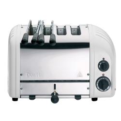 Classic Combi 2 x 2 slot toaster, White