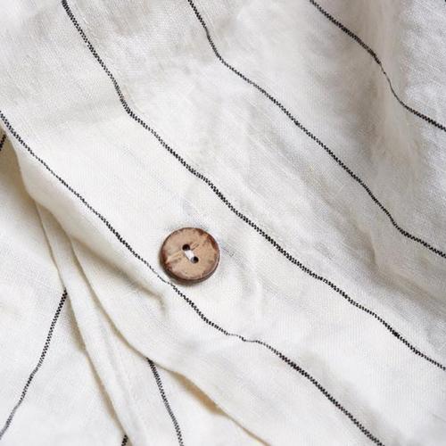 King duvet cover, 220 x 225cm, Luna Stripe