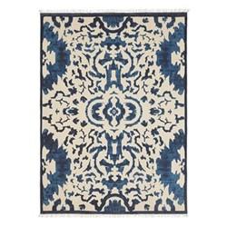 Nesbitt Rug, 315 x 230cm, 100% cotton/blue