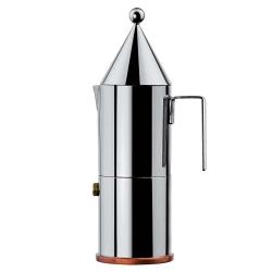 La Conica by Aldo Rossi Espresso coffee maker, 3 cup