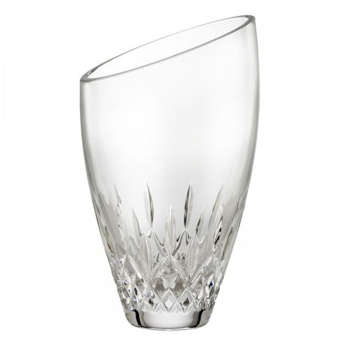Lismore Essence Angled round vase, 23cm