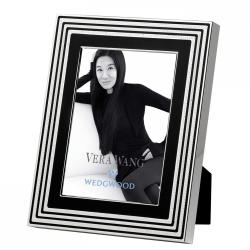 "Vera Wang - With Love Noir Photograph frame, 7 x 5"", Silver Plate"