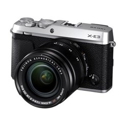 X-E3 Mirrorless camera with XF 18-55 mm f/2.8-4, 24.3MP, silver